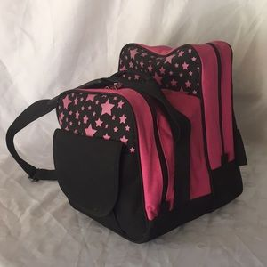 Handbags - Pink bowling ball bag